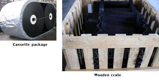Cassette package , Wooden crate
