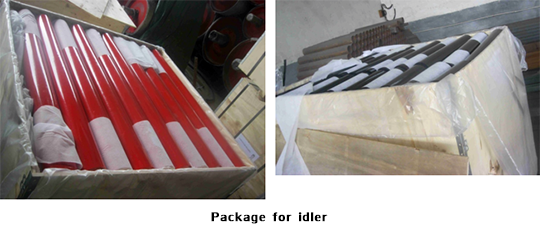 Package for idler